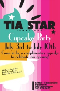 Tia Star Boutique Cupcake Party